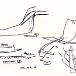 Sketch 05_Atrium as extenstion of park landscape, Image Courtesy © PLUS-SUM Studio