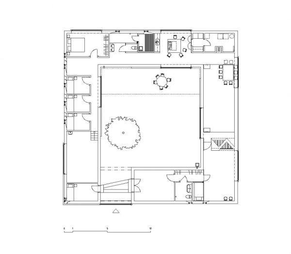 Plan, Image Courtesy © Tham and Videgård Arkitekter