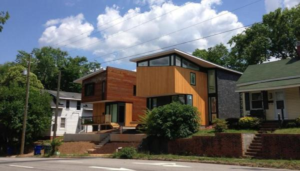 Edenton St. Duo, Image Courtesy © Raleigh Architecture Company