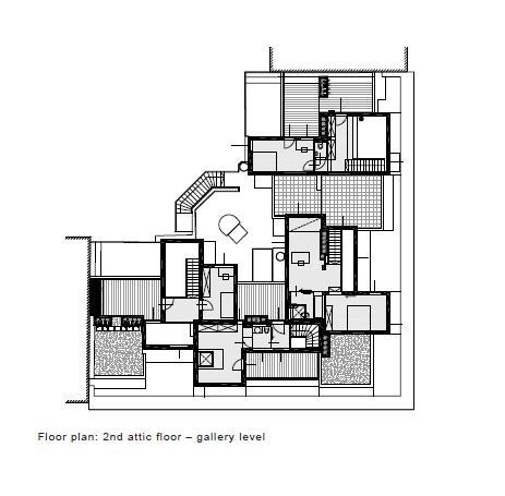 gallery level, Image Courtesy © PPAG architects
