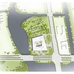 Site plan, Image Courtesy © Willmore CG