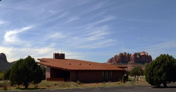NW Side Corten Roof 1, Image Courtesy © LEA Architects