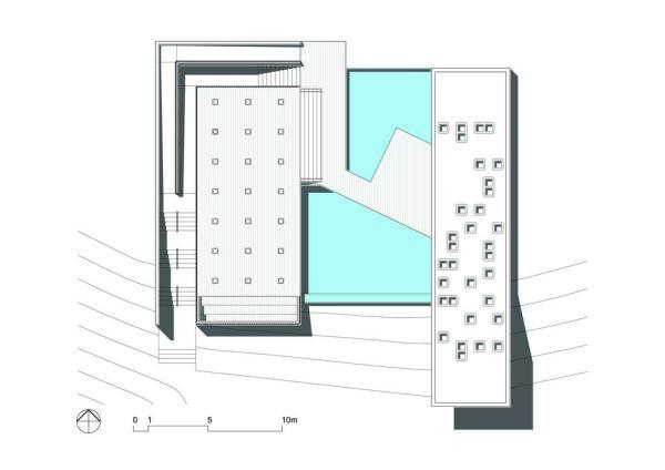 Roof plan , Image Courtesy © BCMF Arquitetos / Mach Arquitetos