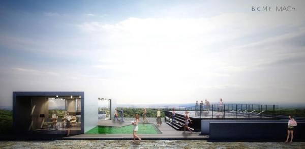 Front Elevation , Image Courtesy © BCMF Arquitetos / Mach Arquitetos