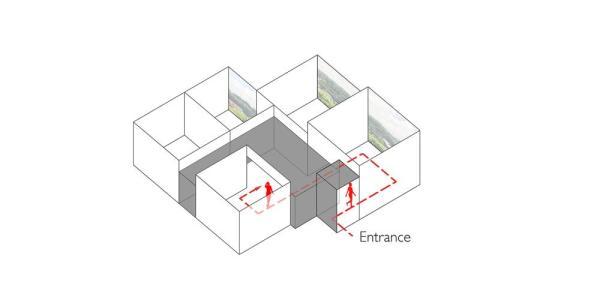 Route, Image Courtesy © Studio Wills + Architect