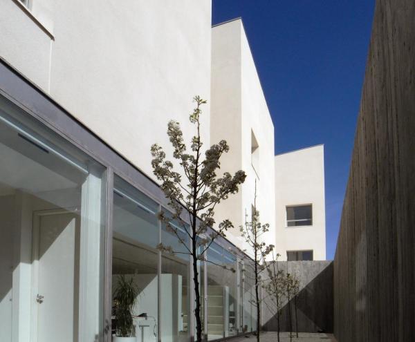 Office area patio, Image Courtesy © Taller básico de arquitectura s.l.