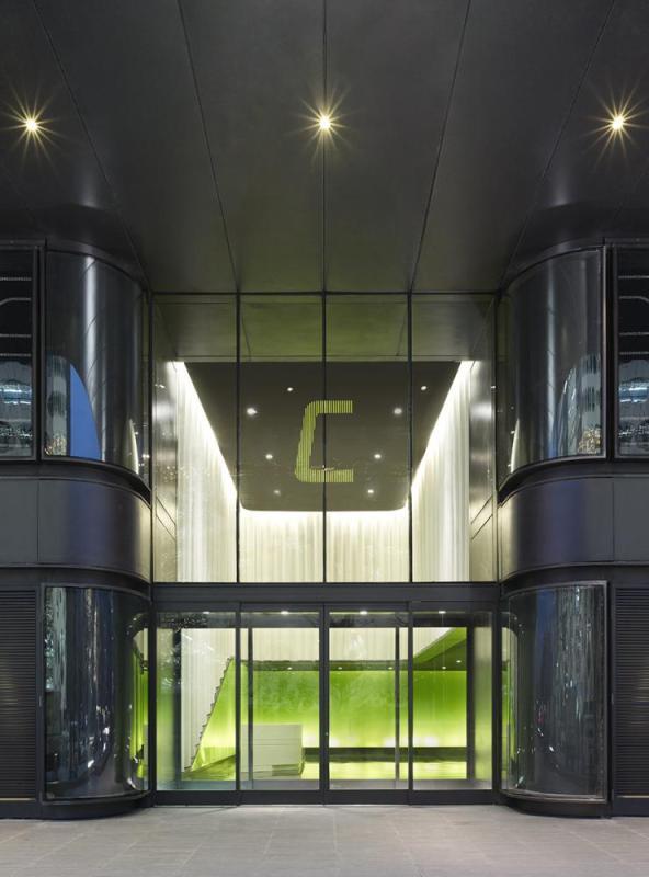 One Entrance Area, Image Courtesy © Christian Gahl