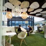 First Floor_Meet & Create_Informal Area_Green Lounge, Image Courtesy © Christian Beutler