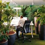 First & Second Floor_Homebase_Work Area_Garden Typology, Image Courtesy © Thomas Beyerlein