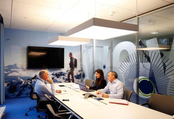 First & Second Floor_Homebase_Meeting Room_Standard Typology, Image Courtesy © Thomas Beyerlein