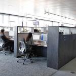 First & Second Floor_Homebase_Work Area_Library Typology , Image Courtesy © Thomas Beyerlein