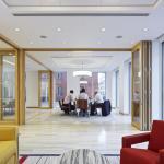 Meeting lounge, Image Courtesy © Paul Riddle