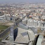 Valle Architetti Associati. Piazza Gino Valle, Portello, Milan, Italy, Image Courtesy © fotoaeree.it