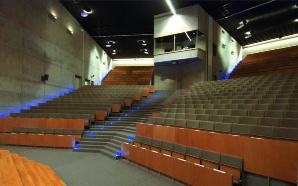 Auditorium general view , Image Courtesy © Christine Deboosere