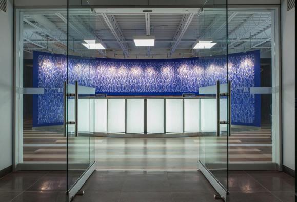 Reception Area, Image Courtesy © Az Works Productions