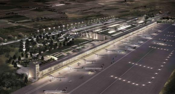 Cukurova Airport by EAA Emre Arolat Architects, Turkey, Image Courtesy © EAA Emre Arolat Architects