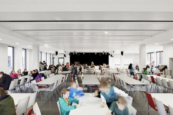 Cafeteria, Image Courtesy © Marcus Bredt