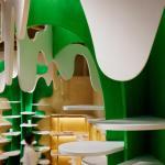 milk-tree tower,shelf, Image Courtesy © Moriyuki Ochiai Architects