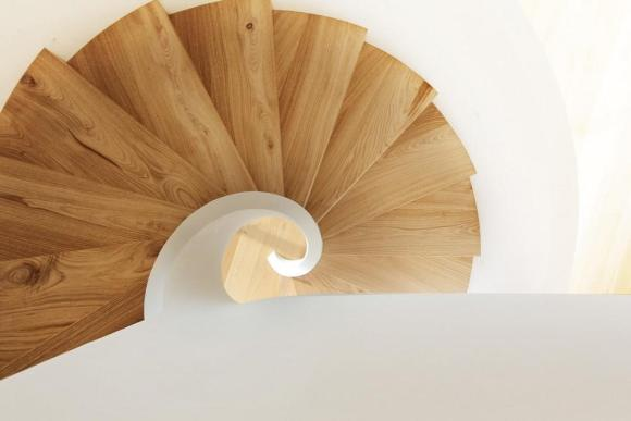 Ttop view of staircase, Image Courtesy © Alessandro Ruzzier