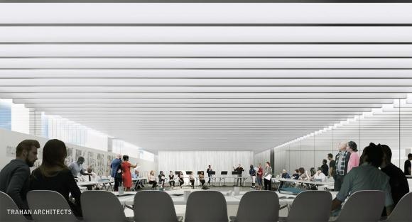 Rehearsal Room Actors, Image Courtesy © Trahan Architects