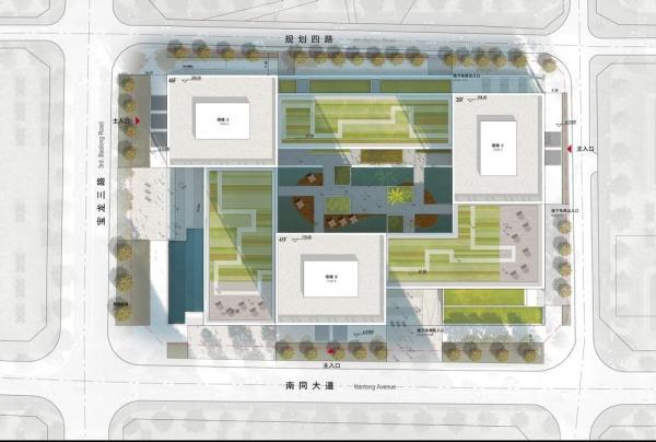 Master plan, Image Courtesy © gmp Architekten von Gerkan, Marg und Partner