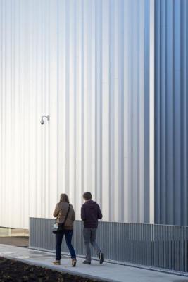 detail facade Cube design museum, Image Courtesy © René de Wit
