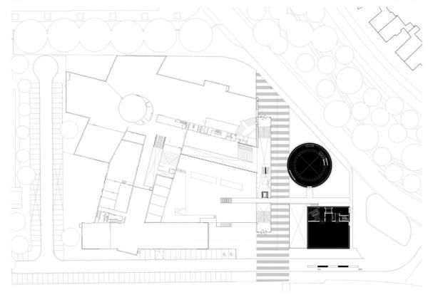 plan level 0, Image Courtesy © Shift Architecture