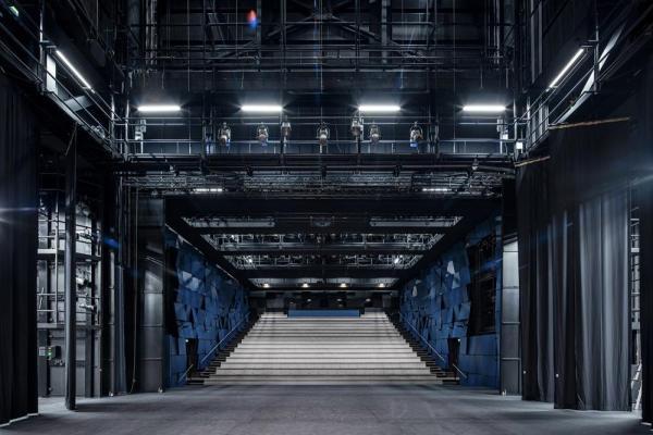 large theater hall, Image Courtesy © Tuomas Uusheimo