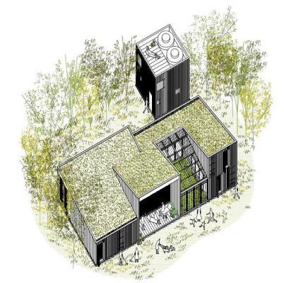 Image Courtesy © IR arquitectura