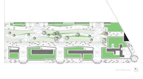 General plan, Image Courtesy © Tetrarc architectes