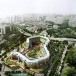 Aerial View, Image Courtesy © SPARK architects