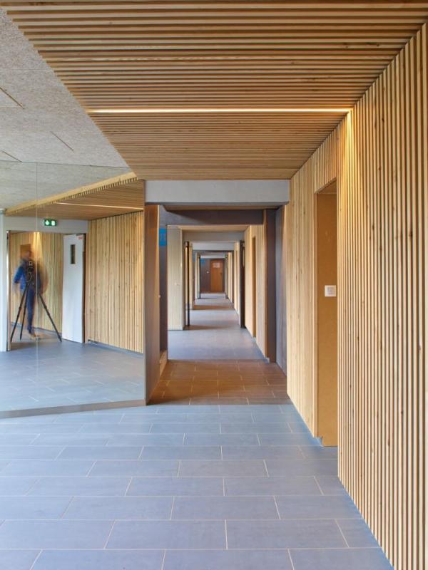 Rehabilitation of existing corridors, Image Courtesy © Stéphane Chalmeau