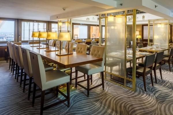 The Executive Lounge includes a reception, dining area, buffet and pantry, Image Courtesy © Gareth Gardner