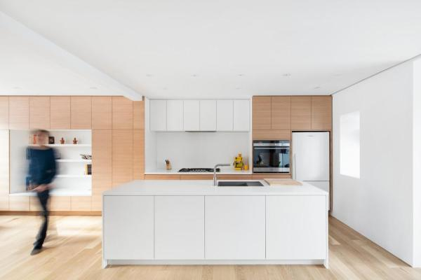 Kitchen and living room, Image Courtesy © Adrien Williams