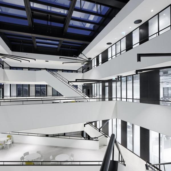 Image Courtesy © Vincent Fillon / Dominique Perrault Architecture / Adagp