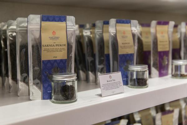 Tea display, Image Courtesy © Kate Berry