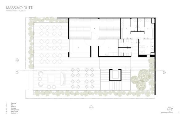 Rooftop Level, Image Courtesy © Sordo Madaleno Arquitectos