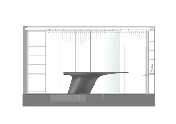 Section, Image Courtesy © ggarchitects