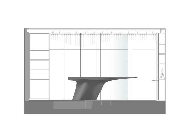Section, Image Courtesy © ggarchitects
