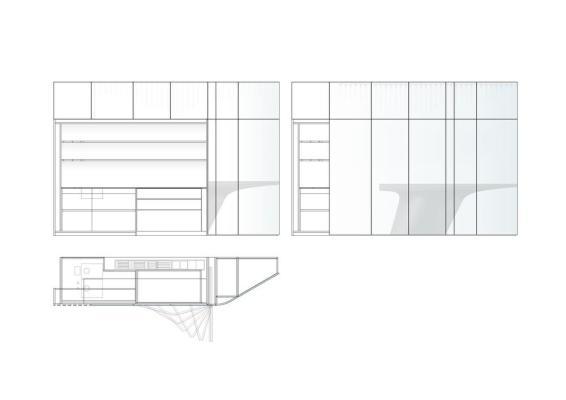 Elevation 3, Image Courtesy © ggarchitects