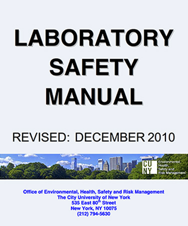 Laboratory Safety Manual \u2013 The City University of New York