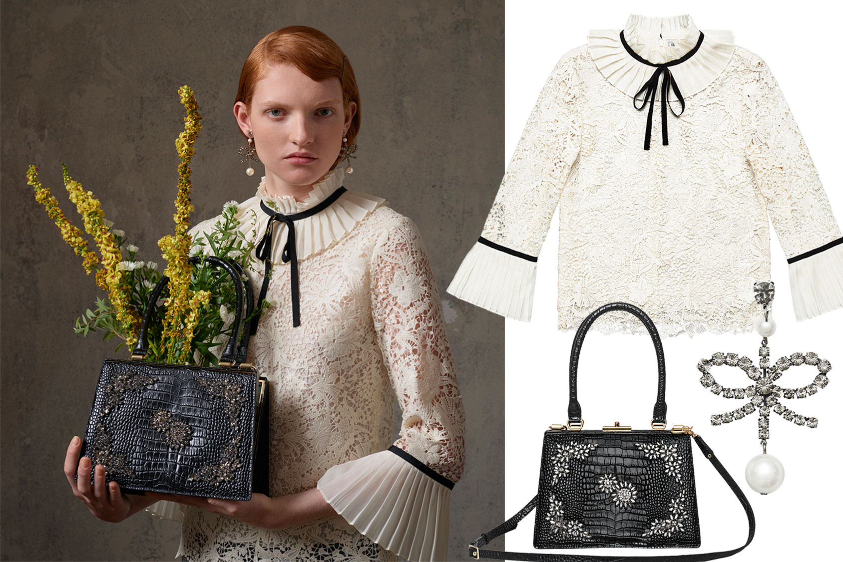 Badkamer Accessoires H&m A Complete Guide To Erdem X H M H M Nl