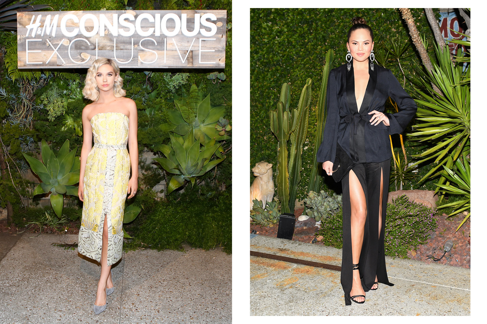 Badkamer Accessoires H&m A Listers Celebrate The H M Conscious Exclusive Collection In La