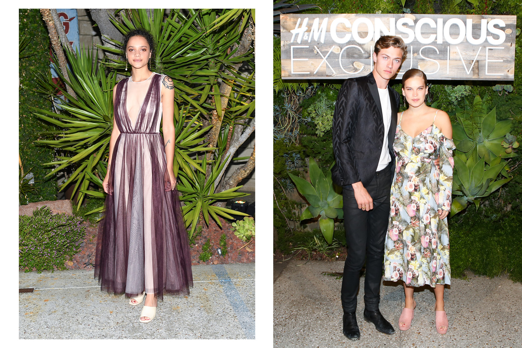 H And M Nl A Listers Celebrate The H Andm Conscious Exclusive Collection