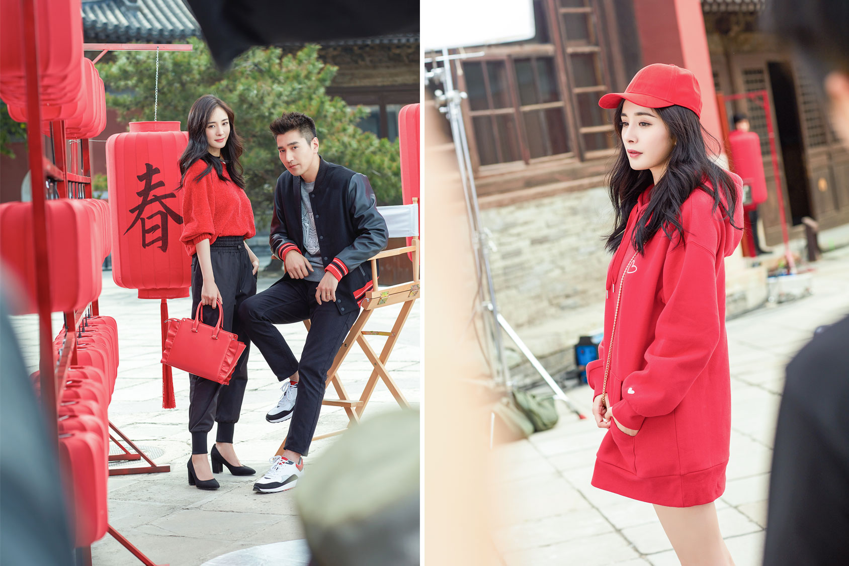 H&m Werbung Yang Mi And Mark Chao Celebrate Chinese New Year With H M H M Ca