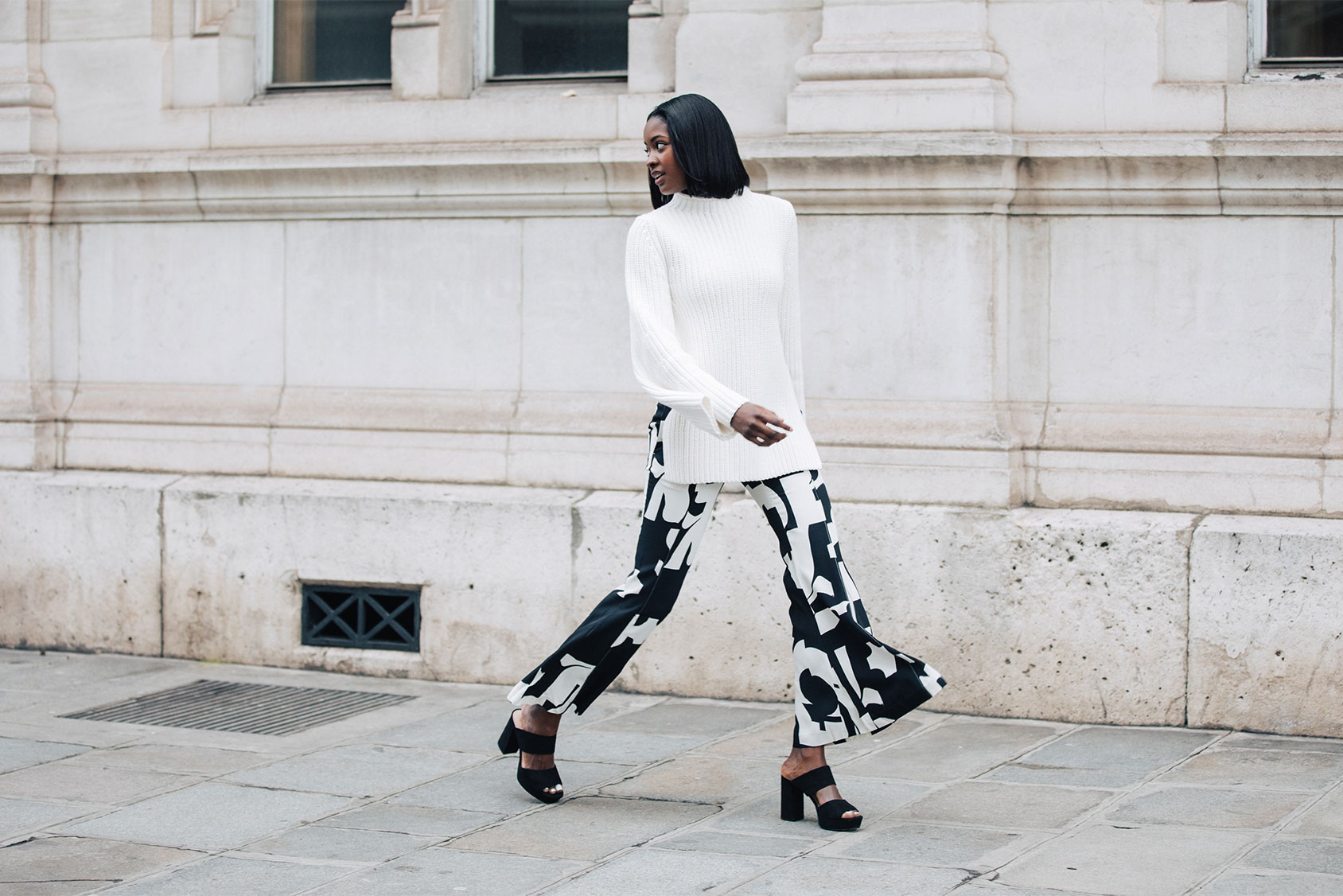 Badkamer Accessoires H&m What Sira Kante Wore To Paris Fashion Week H M Be
