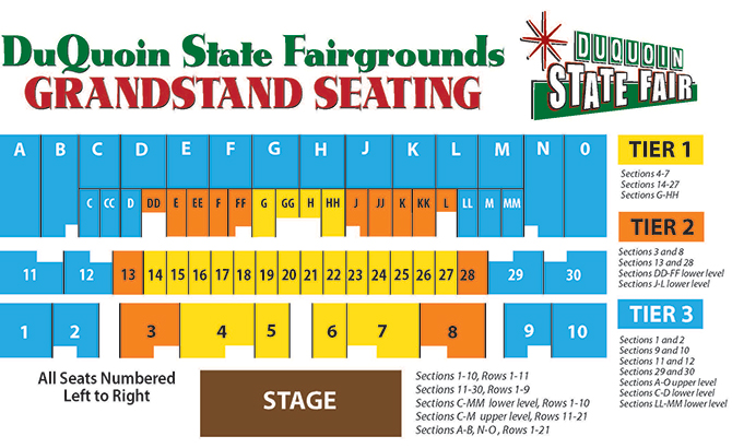 illinois county fair schedule