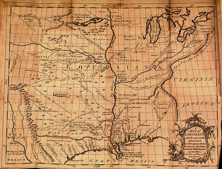 Le Page Du Pratz The History of Louisiana