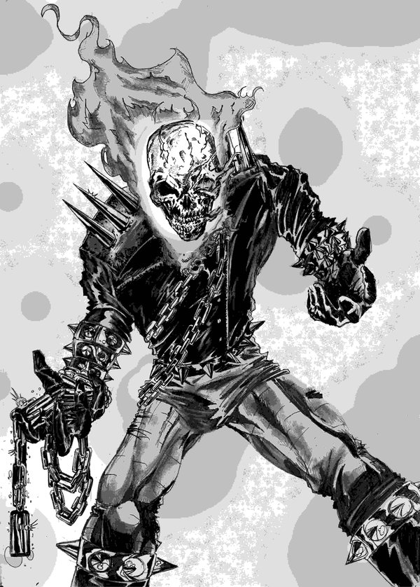 Wallpaper Hd Ghost Rider Coloriages 224 Imprimer Ghost Rider Num 233 Ro 27286