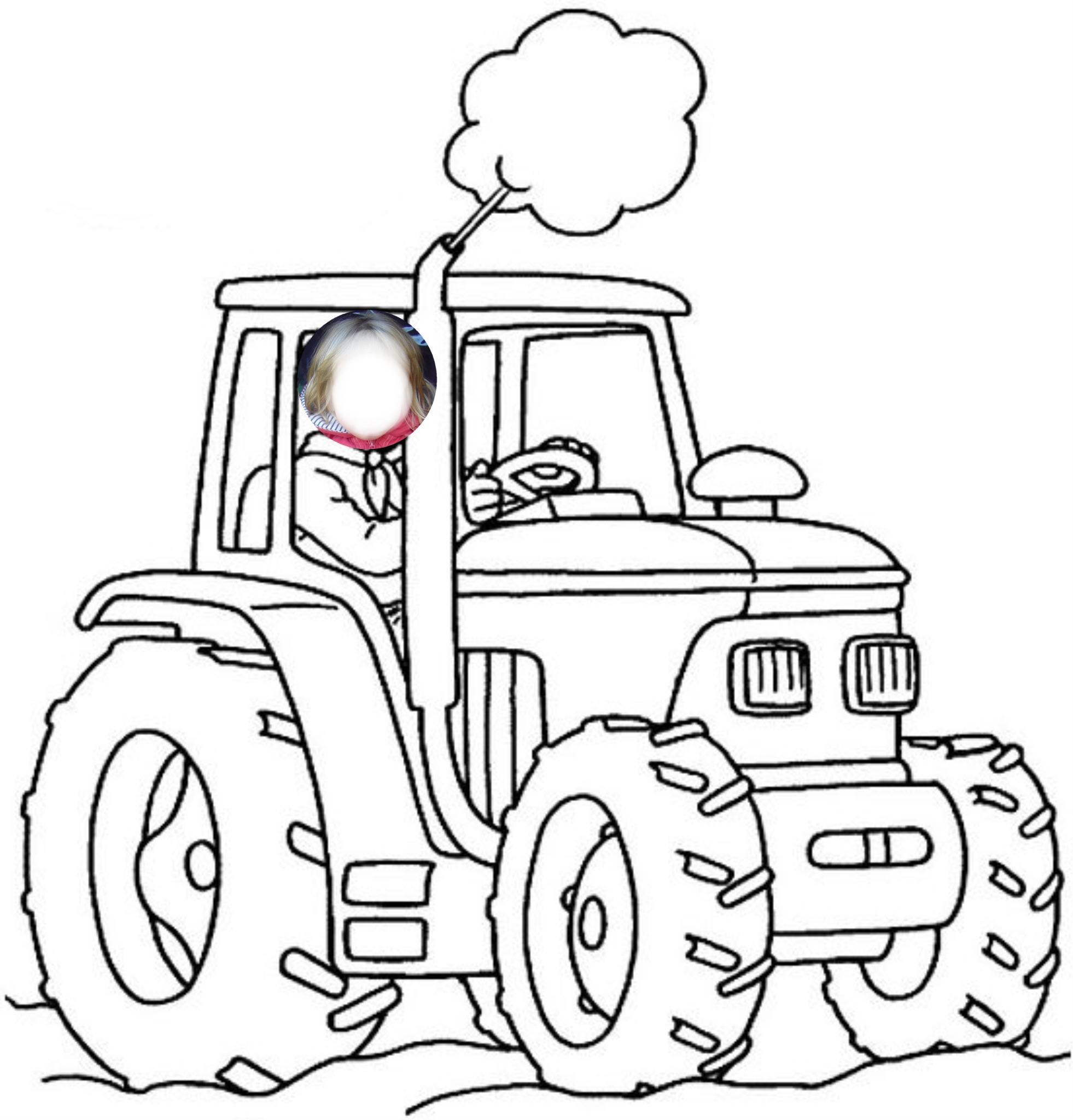 Coloriage De Ferme Avec Tracteur A Imprimer.Jeux Ferme Agricole Avec Tracteur Gratuit Ferme Norev